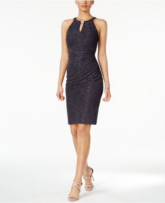 B & A by Betsy and Adam Glitter Sheath Dress $129 thestylecure.com