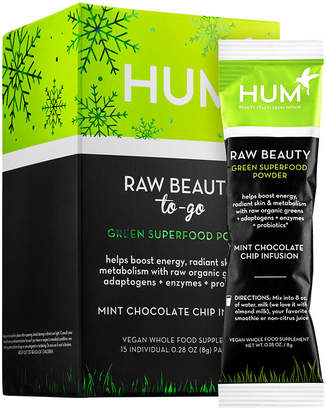 HUM NUTRITION Hum Nutrition Raw Beauty To-Go Green Superfood Powder