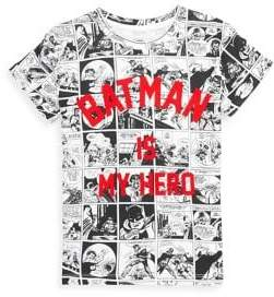 Eleven Paris Toddler's, Little Boy's& Boy's Batro Comic Print Batman Tee