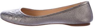 Tory BurchTory Burch Metallic Leather Flats