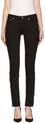 Givenchy Black Star Studded Jeans