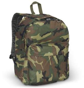 Everest Classic Woodland Camo Backpack, One Size