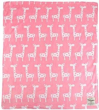 MyBlankee My Blankee Dolce Vita Giraffa Minky Throw Blanket