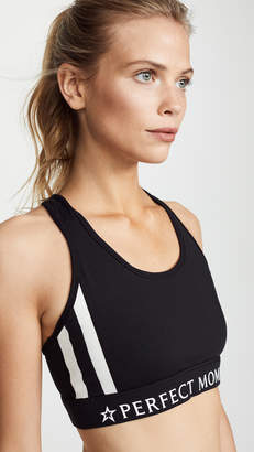 Perfect Moment Stripes Stars Fitness Top