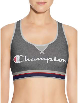 Champion Signature Graphic-Print Athletic Sport Bra