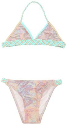 Little Marc Jacobs Iridescent Lycra Bikini