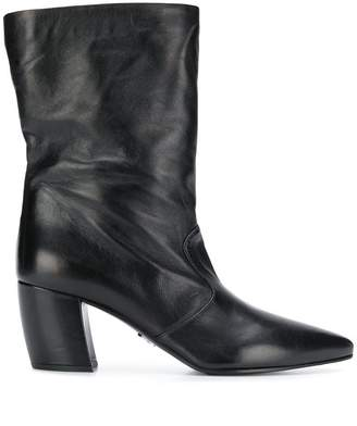 53671097b86 Black Pointed Toe Women s Boots - ShopStyle
