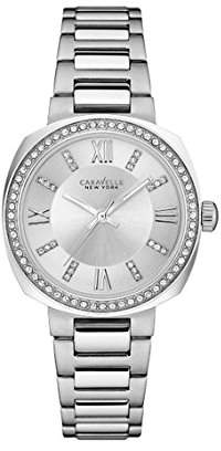 Bulova Women's Quartz Stainless Steel Casual Watch, Color:Silver-Toned (Model: 43L195) $120 thestylecure.com