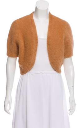 Michael Kors Cropped Angora Cardigan w/ Tags