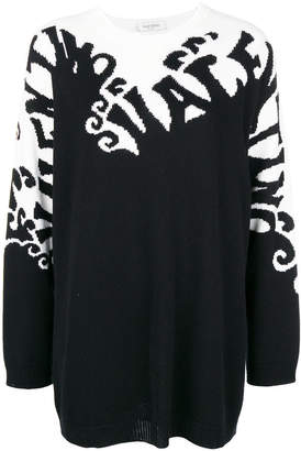 Valentino cashmere waves jumper