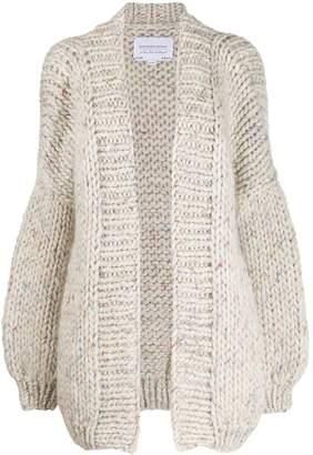 I Love Mr Mittens oversized chunky knit cardigan