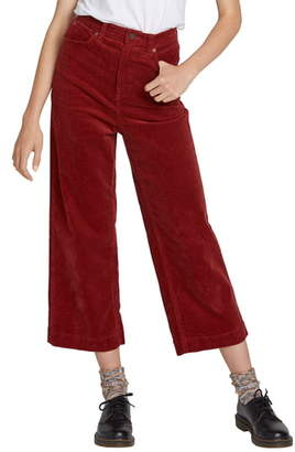 Volcom Oh My Cord Wide Leg Crop Pants