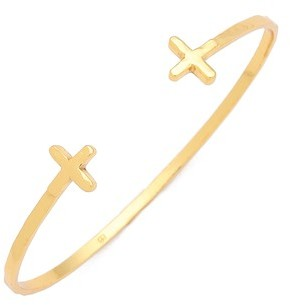 Gorjana Cross Over Cuff Bracelet