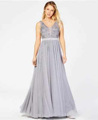 d60c8f29477 Say Yes to the Prom Juniors  Rhinestone Ballgown