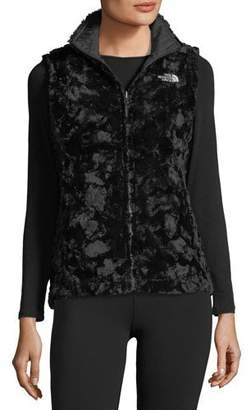 The North Face Mossbud Swirl Reversible Performance Vest, Black