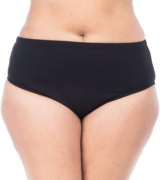 Chaps Plus Size High-Waisted Scoop Bottoms