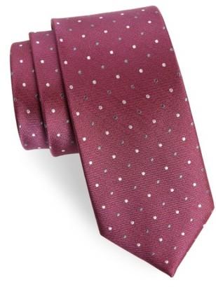 Men's The Tie Bar Jpl Dots Silk Tie $19 thestylecure.com