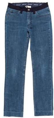Lanvin x Acne Mid-Rise Straight-Leg Jeans