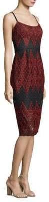 BCBGMAXAZRIA Alese Jacquard Woven Dress