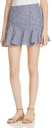 MLM Label Gingham Mini Skirt - 100% Exclusive $154 thestylecure.com