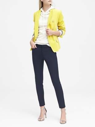Banana Republic Petite Sloan Skinny-Fit Solid Ankle Pant