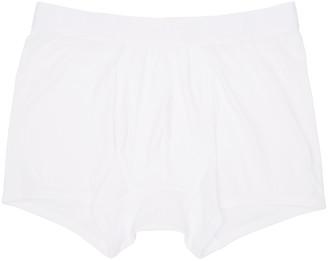 Comme des Garçons Shirt White Boxer Briefs $45 thestylecure.com