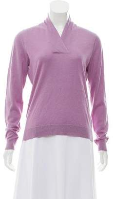 Brooks Brothers Silk Long Sleeve Sweater