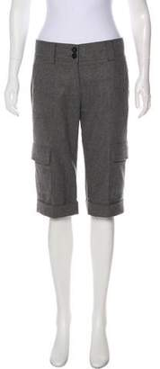 Burberry Knee-Length Wool-Blend Shorts