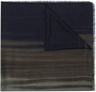 Ermenegildo Zegna coloured styled scarf