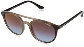Vogue Women's 0vo5195s Non-Polarized Iridium Round Sunglasses
