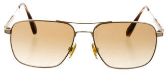 Oliver Peoples Oliver Peoples Gradient Aviator Sunglasses