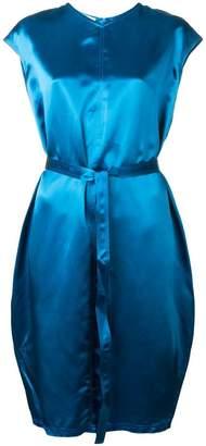 Helmut Lang sleeveless belted dress