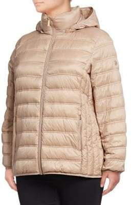 7fcd0bfc3be MICHAEL Michael Kors THE COAT EDIT Short Packable Puffer Coat