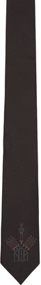 Valentino Black Love Blade Tie $190 thestylecure.com
