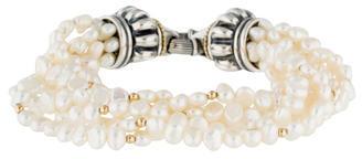 Lagos Multistrand Pearl Bracelet $325 thestylecure.com