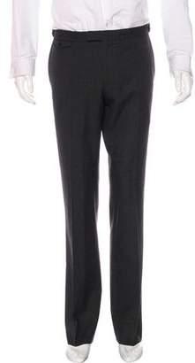 John Varvatos Wool Flat Front Dress Pants