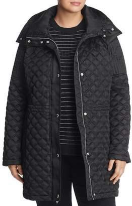Andrew Marc Plus Calypso Quilted Coat