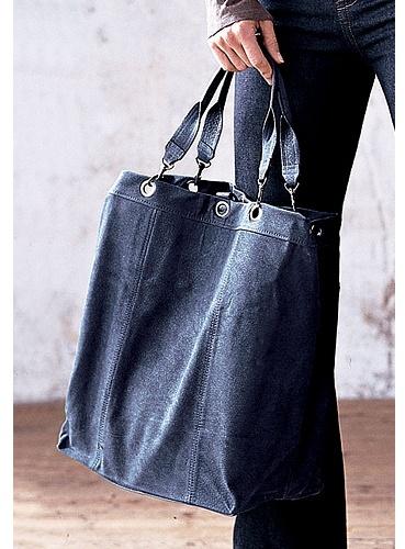 Leather Grommet Bag