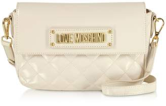 Love Moschino Quilted Eco-leather Shoulder Bag