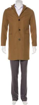 Fendi Virgin Wool Overcoat