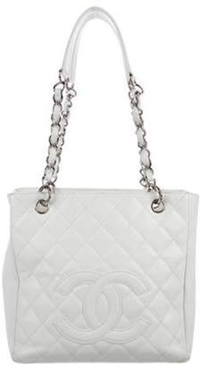 Chanel Petit Shopping Tote White Petit Shopping Tote