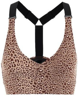 Varley Harper leopard-print sports bra