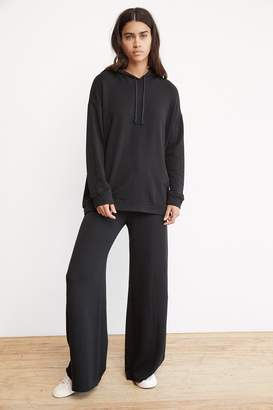 Velvet by Graham & Spencer KIT LUXE FLEECE WIDE LEG PANT