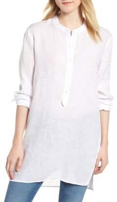 Stateside Shirting Tunic Top