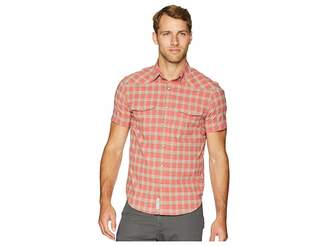 Lucky Brand Western 40s Stretch Poplin Shirt