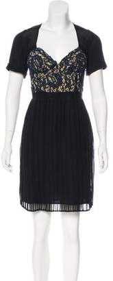 Vena Cava Silk Knee-Length Dress
