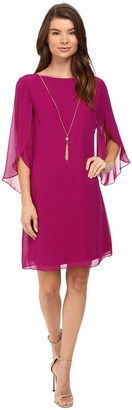 Christin Michaels Erin Woven Sheath Dress $69 thestylecure.com