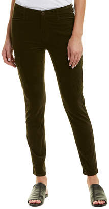 Vince Olive Corduroy Skinny Cargo Pant