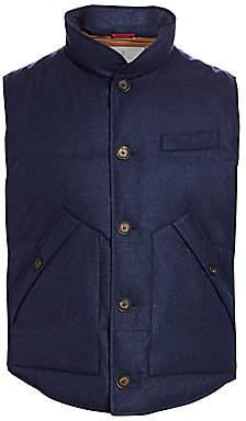 Brunello Cucinelli Men's Goose Down Puffer Vest