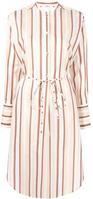 Ports 1961 shirt dress with stripes